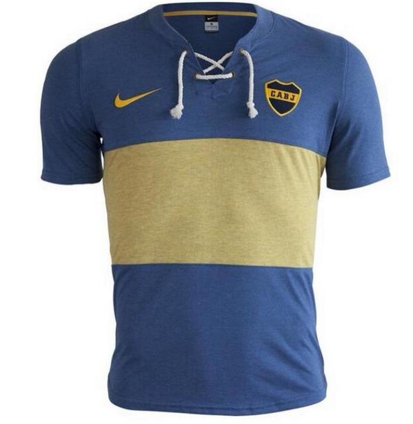 71b8452c489b7 Boca deverá usar uma camisa retrô bem legal em 2014 - Trivela