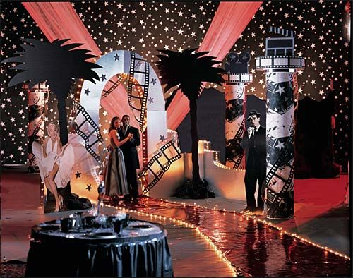 Lexibrazelton Old Hollywood Red Carpet Prom Theme Prom
