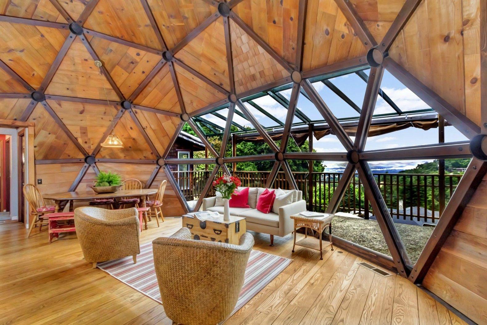 Interior design dome home - House