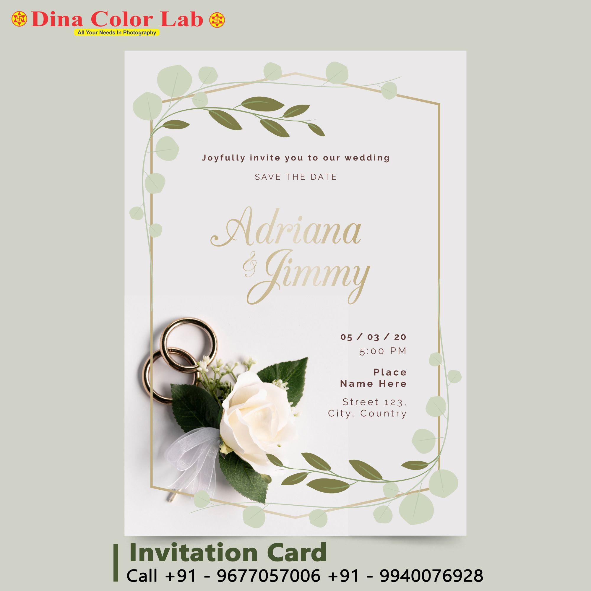 Invitation Card Printing Custom Invitation Cards Wedding Invitation Templates Wedding Invitation Card Design Invitation Card Printing