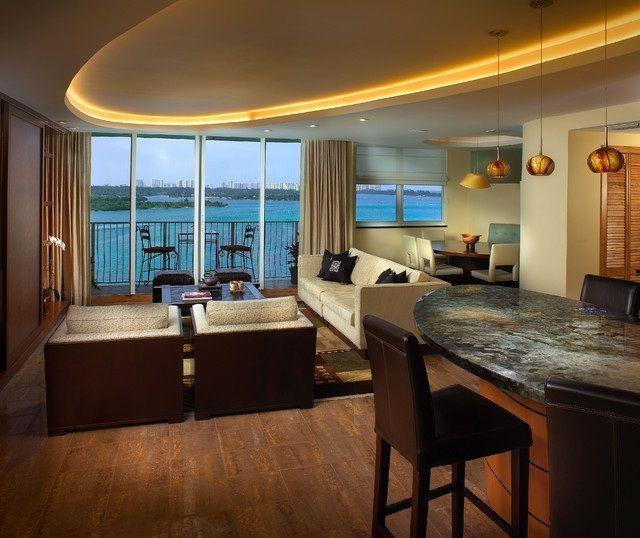 indirekte beleuchtung wohnzimmer wohnideen holz dielenboden, Wohnideen design