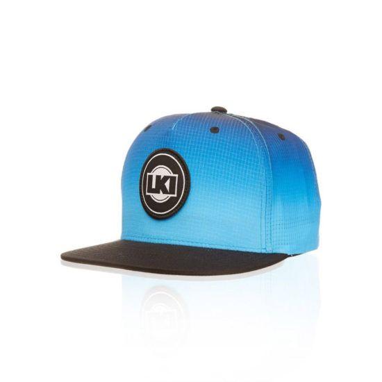 67d8b00646f Lki (loosekid industries) brand flush snapback cap blue-black