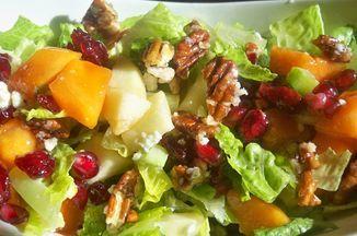 APPLE – PERSIMMON SALAD Recipe on Food52, a recipe on Food52