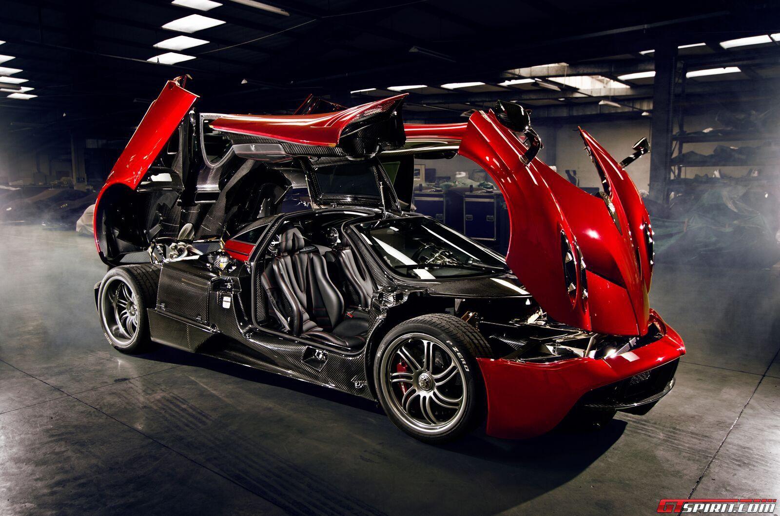 The Incredible Ferrari Pagani Huayra Cars And Super Car