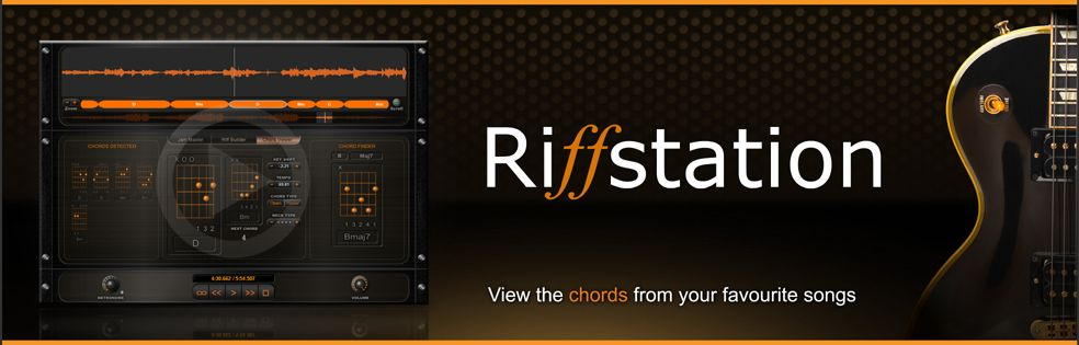 Riffstation software -- Get the chords for any song. get the chords ...