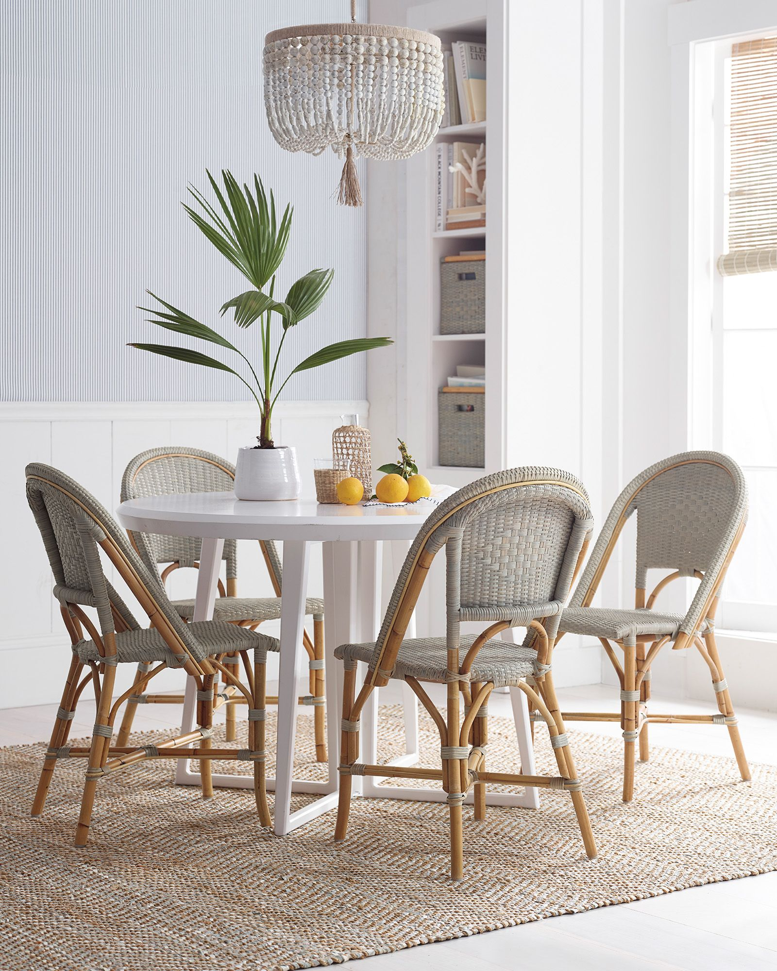 Sunwashed Riviera Side Chair Dining Room Rug Dining Room