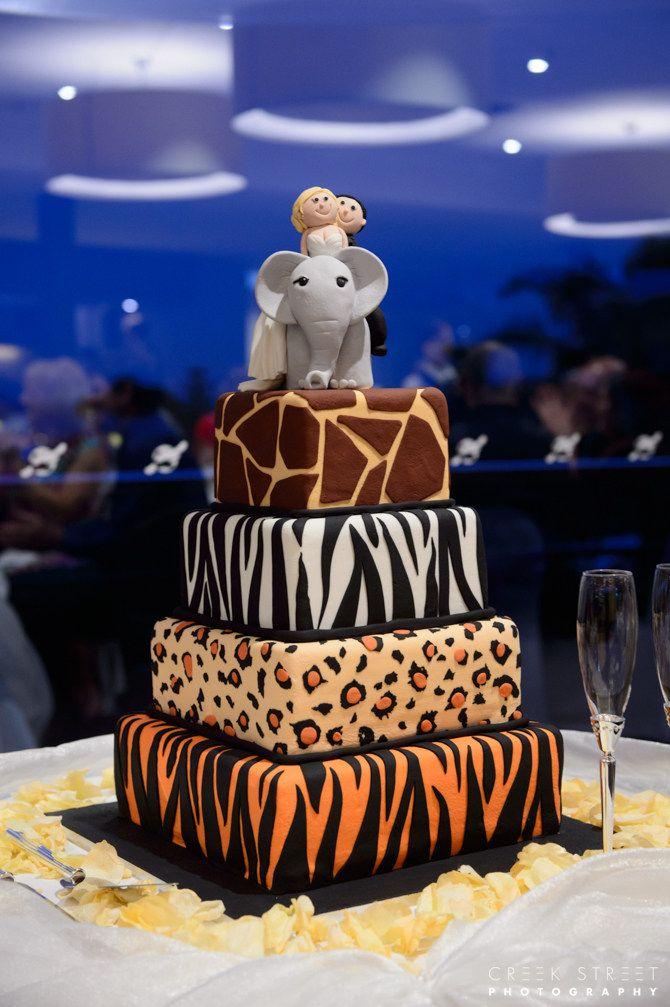 Taronga Zoo Wedding Reception Weddingcake