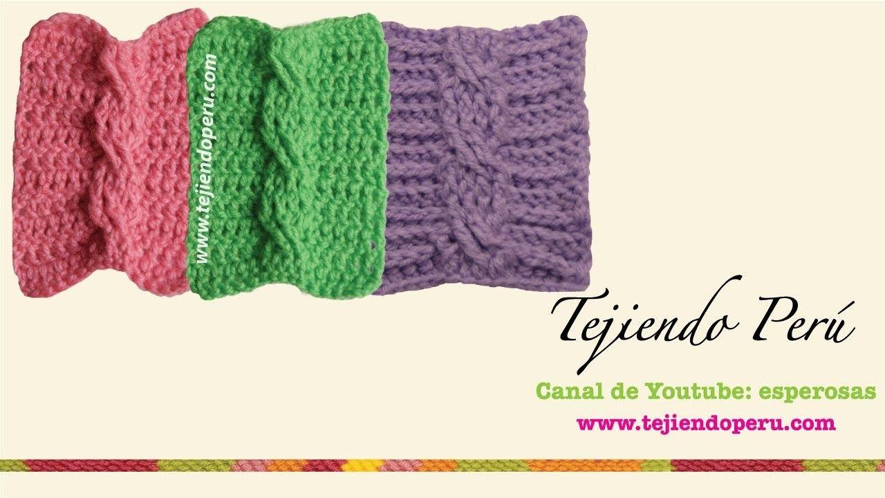 Trenzas u ochos tejidas en crochet   Trenza, Tejido y Puntadas
