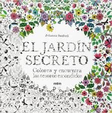 para dibujar pintar libro de colorear jard/ín antiestr/és Cuadernos de colorear para adultos y ni/ños y ni/ñas