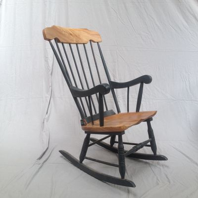 Other Wood Chair Makeover Chair Makeover Rocking Chair Makeover