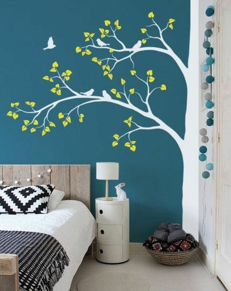 tolle wandgestaltung mit farbe 100 wand streichen ideen kinderzimmer pinterest w nde. Black Bedroom Furniture Sets. Home Design Ideas