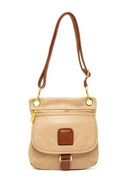 Co-Lab Front Zip Colorblock Crossbody Bag
