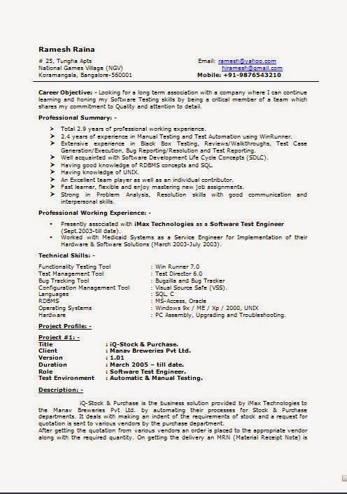 great resumes Sample Template Example of ExcellentCV / Resume - Cv Example