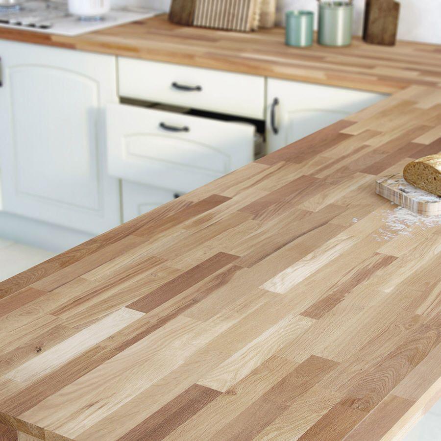 plan de travail bois ch ne huil satin plan de travail bois leroy merlin et merlin. Black Bedroom Furniture Sets. Home Design Ideas