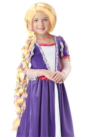 Rapunzel Wig for Girls