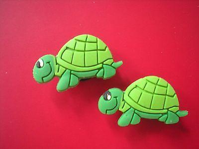 b956cc87d Croc Clog Jibbitz Charm Shoe Plug Button Accessories Fit WristBand Sandal  Turtle