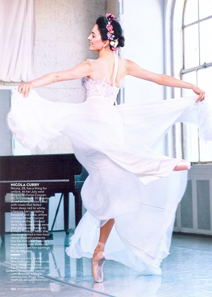 PHOTOS: Misty Copeland Strikes A Pose For The Launch Of