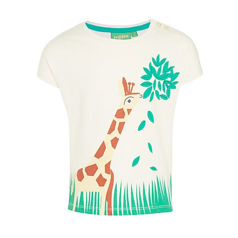382e33557e2 Buy Donna Wilson for John Lewis Girls  Giraffe T-Shirt