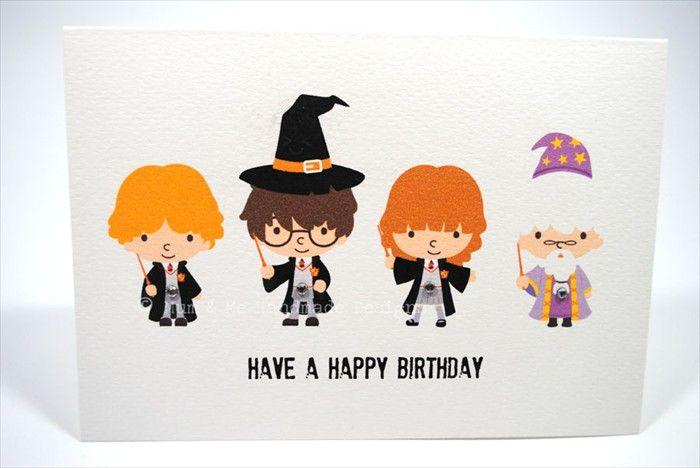 Harry Potter Harry Potter Geburtstag Harry Potter Karten Harry Potter Selber Machen