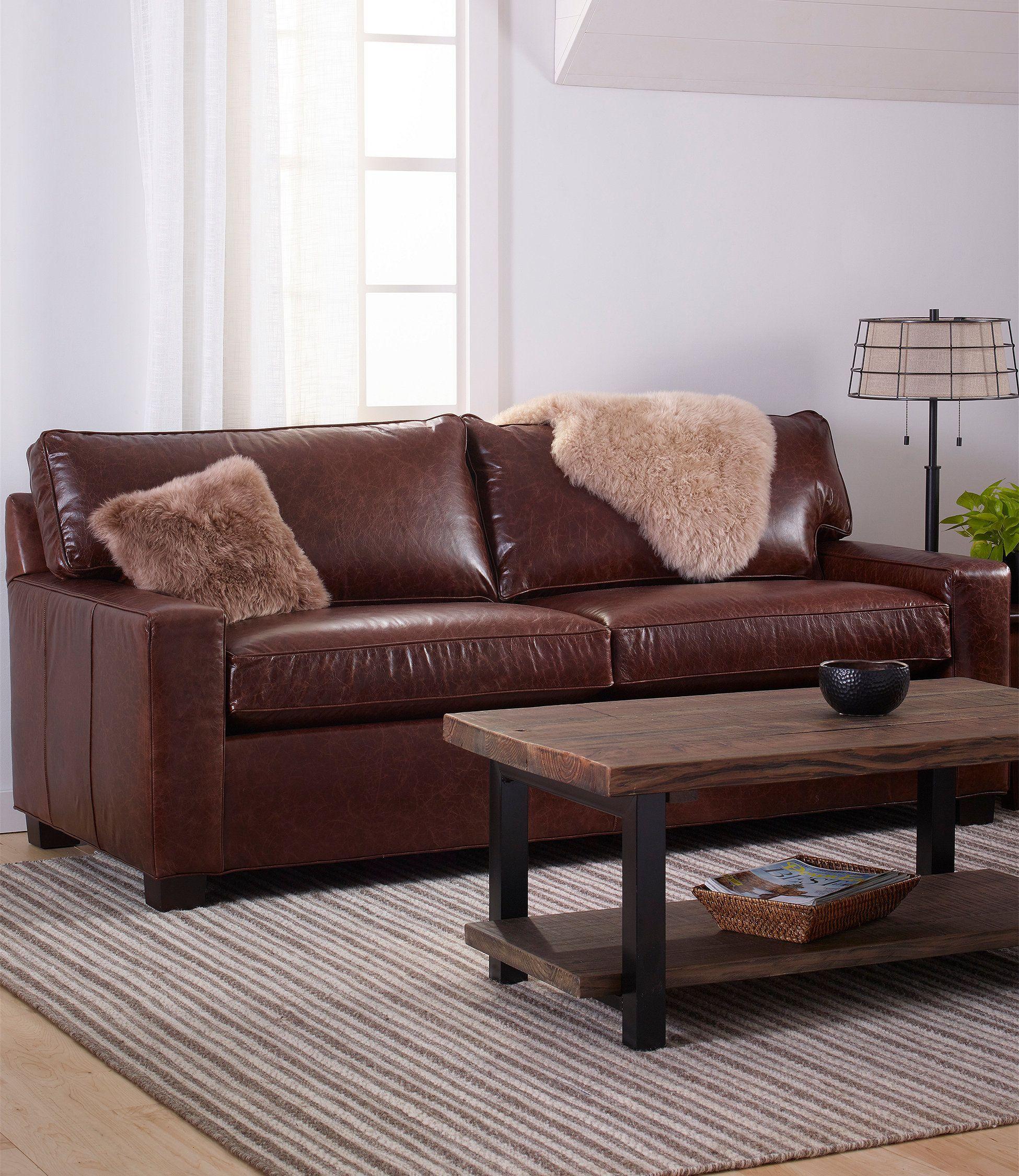 Portland Leather Sofa   Leather sofa, Leather furniture, Sofa