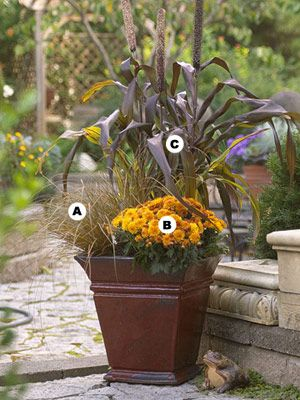 Beautiful Fall Containers Fall Container Plants Fall Container Gardens Fall Containers