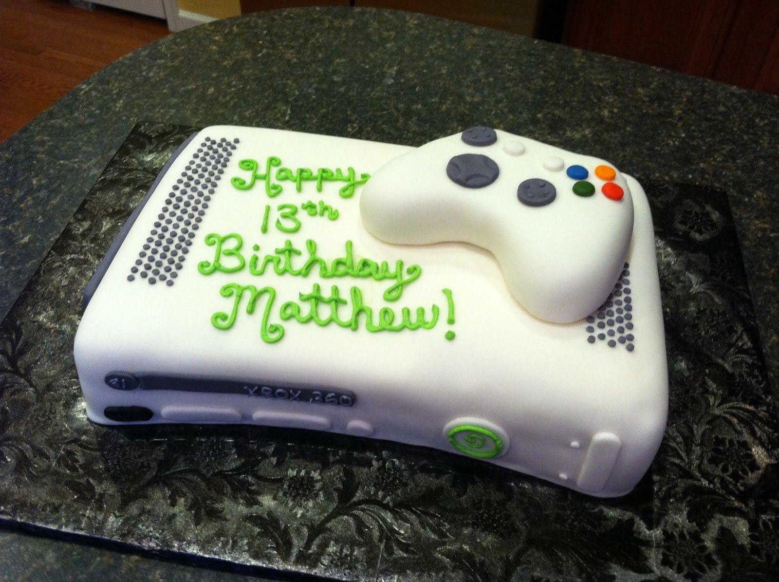 Pin By Bobbi Jo Simons On Birthday Ideas Pinterest Video Game - Video game birthday cake
