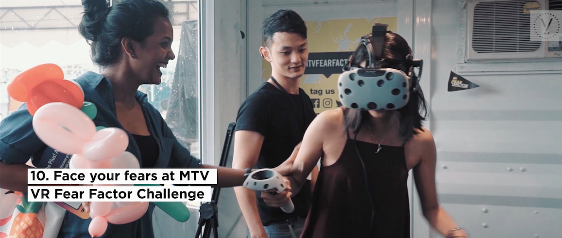 Face your fears at this really cool VR challenge arranged by