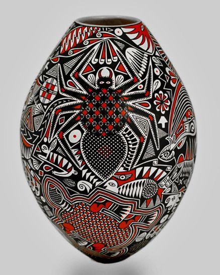 Pin de mundo femat en vasijas de paquim pinterest - Fogli da colorare nativo americano ...