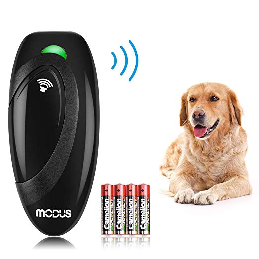 Amazon Com Modus Ultrasonic Bark Control Device Anti Barking Devicedog Training Aid 2 In 1 Control Range Of 16 4 Ft Outdoor Dog Dog Bark Control Dog Barking
