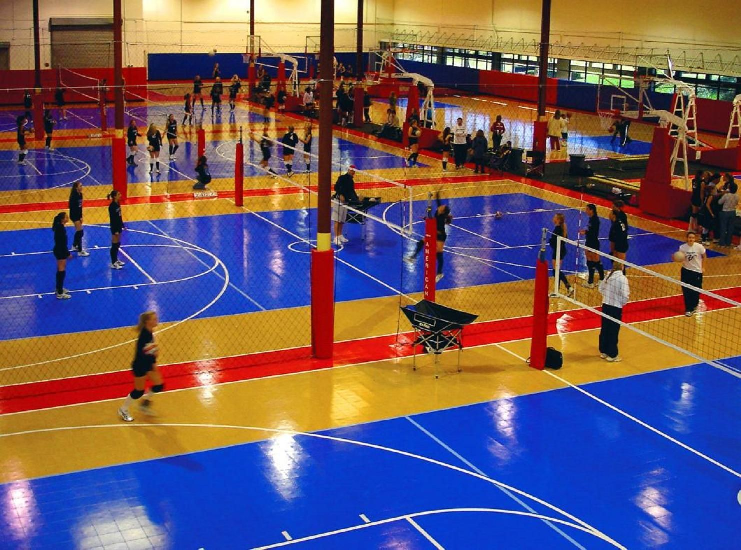 Volleyball Courts Basketball Court Flooring Sports Court Flooring Home Basketball Court