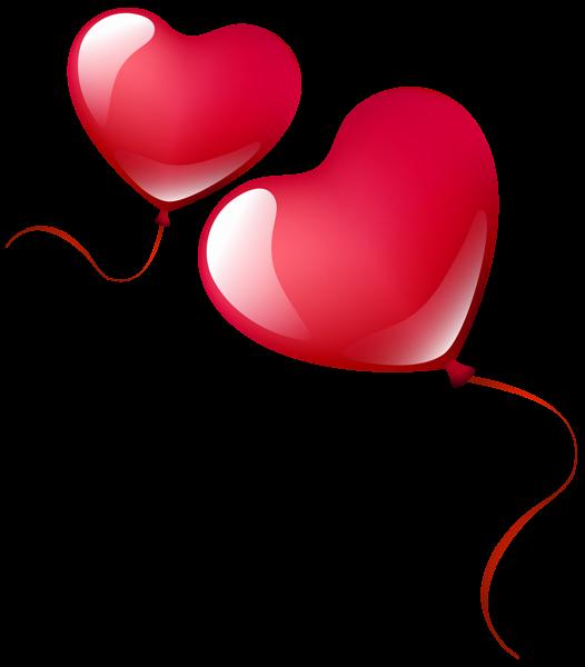 Heart Balloons Png Clipart Image Heart Balloons Love Heart Emoji Balloons