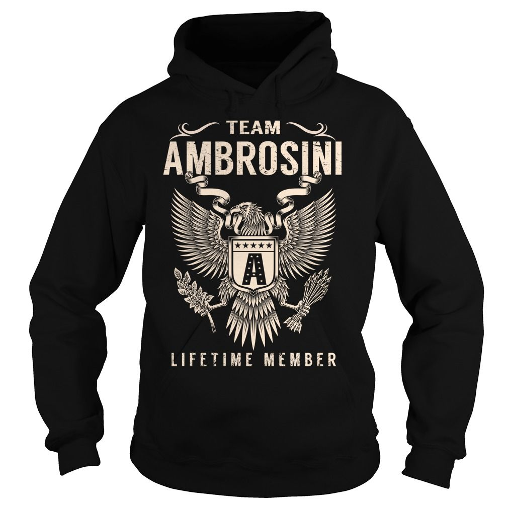 Team AMBROSINI Lifetime Member - Last Name, Surname T-Shirt