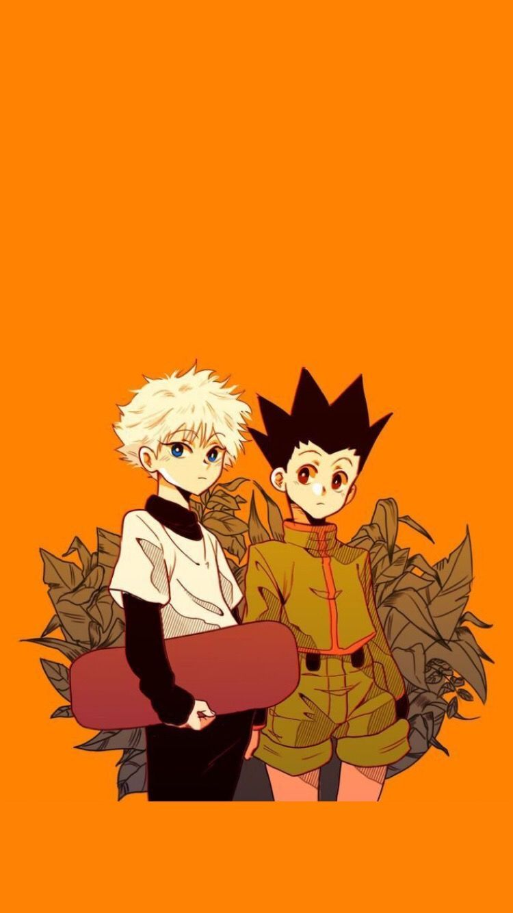 Killua Zoldyck And Gon Freecss Wallpaper In 2020 Hunter Anime Cute Anime Wallpaper Anime Wallpaper