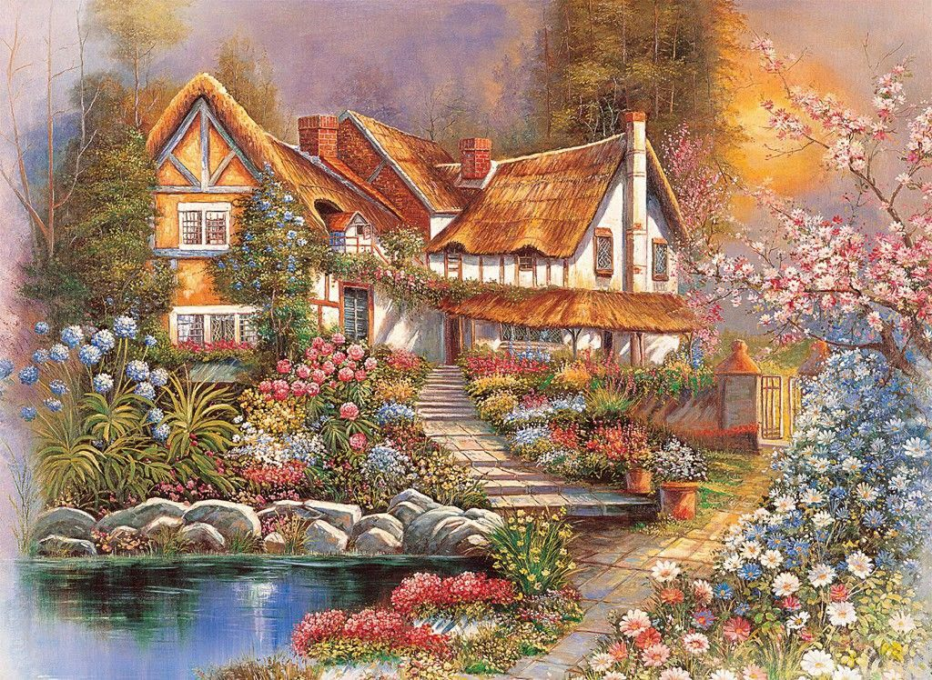 Dreamy Scenery 4000pc Jigsaw Puzzle by Tomax Cottage