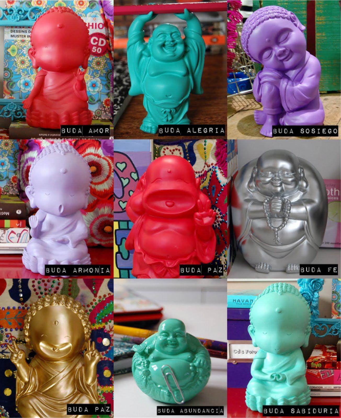 Pin de luz s enz en budas pinterest buda figuras de yeso y yeso - Figuras buda decoracion ...