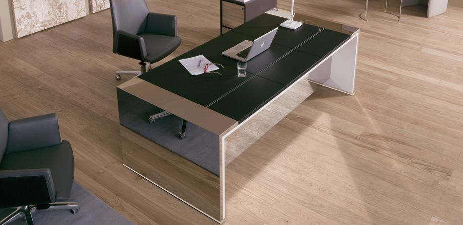 Mesas escrit rio moderna loop por estel mobili rio for Mobiliario italiano