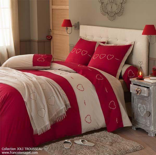 linge de maison chalet montagne affordable affordable housse de couette mendoza style chalet x. Black Bedroom Furniture Sets. Home Design Ideas