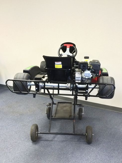 Voodoo VR1 Adult Race Go Kart, 6 5hp Engine, comes ready-to-run