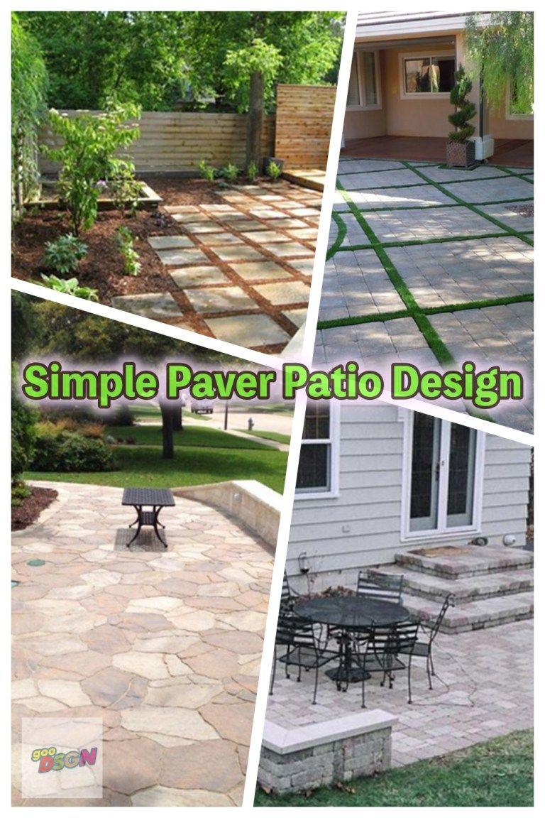 Simple Backyard Patio Designs Tosmun