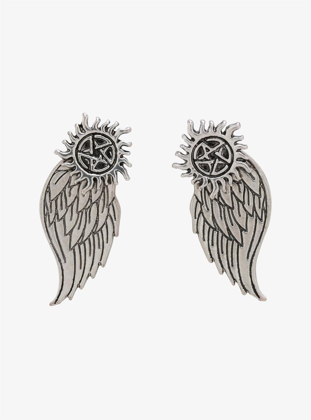 Supernatural AntiPossession Castiel Wings Front/Back
