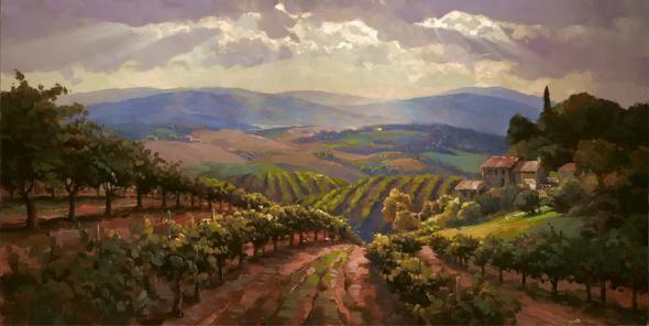 'Tuscany Splendor' ~ Leon Roulette