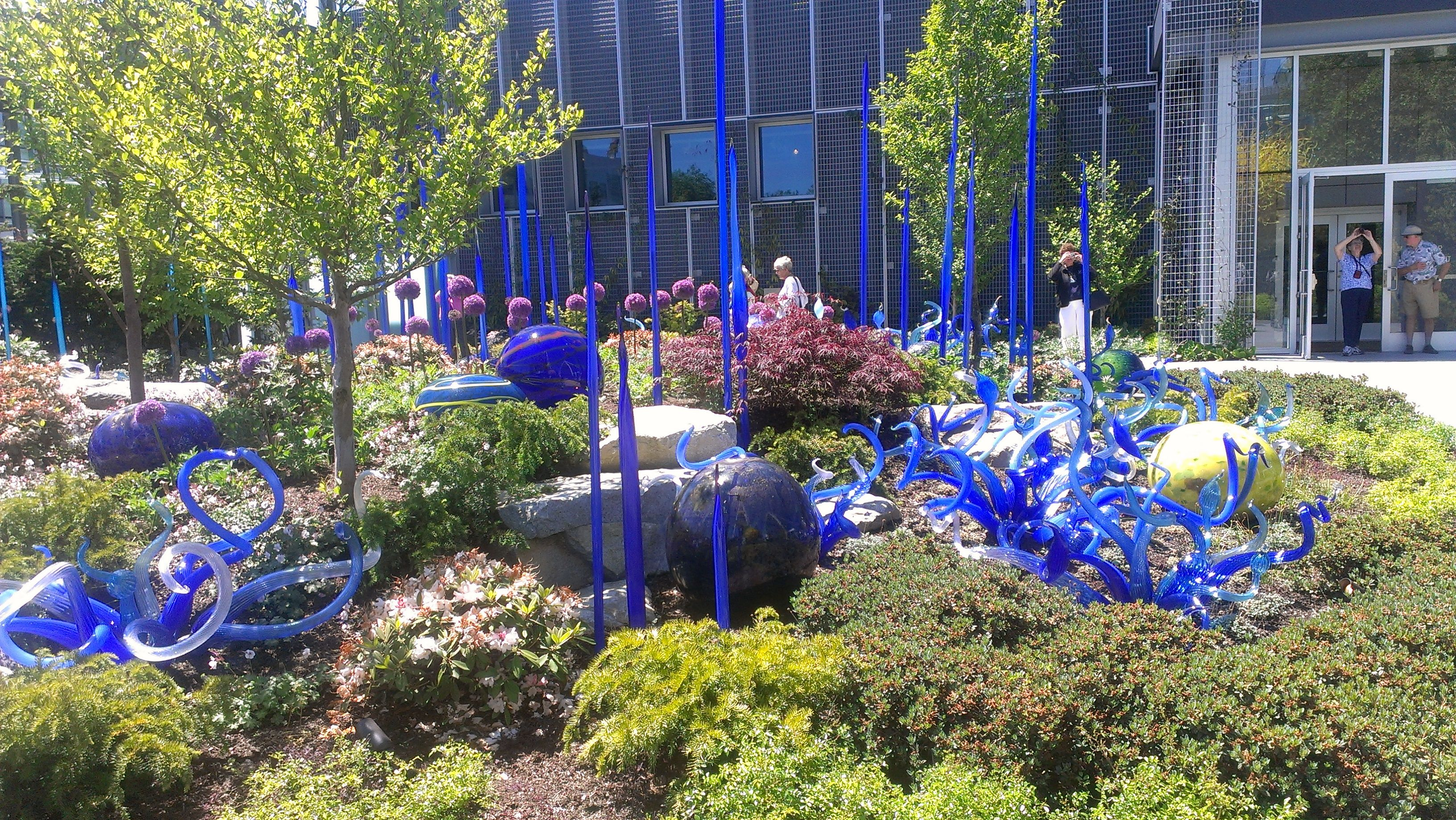 Chihuly Glass Garden Seattle Magical Places