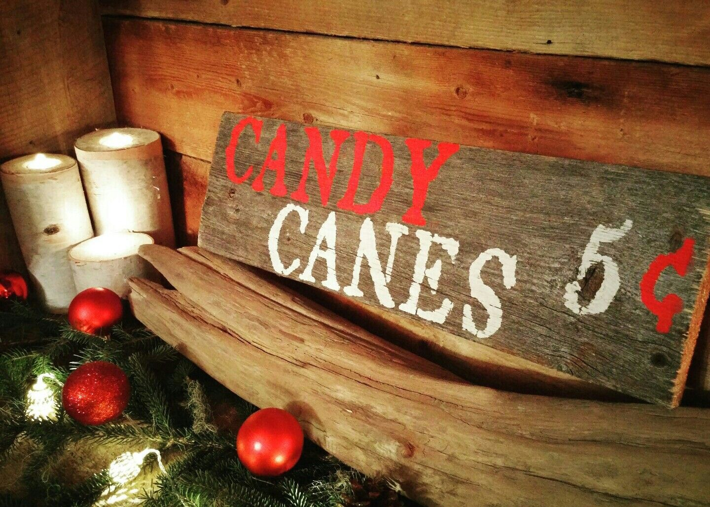 Christmas Barnwood Sign