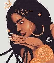 Image Result For Tumblr Short Afro Sketches Afro Art Desenhos