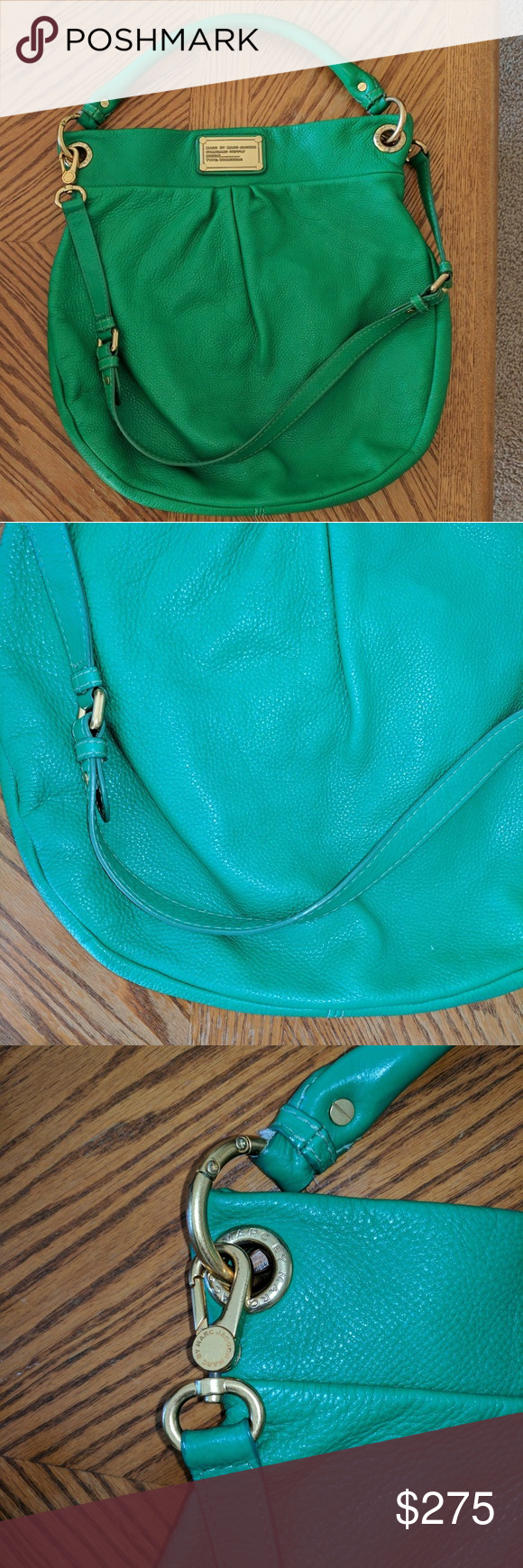 HTF color Marc jacobs classic q hillier hobo