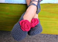 Photo of The easiest crochet slippers