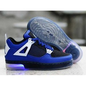 cae4f34e4b792a Jordan light up shoes came out now! 50% off! Don t hesitate to buy  Fashionable Air Jordan 4 IV Retro Shoes - Blue which is only  54.21