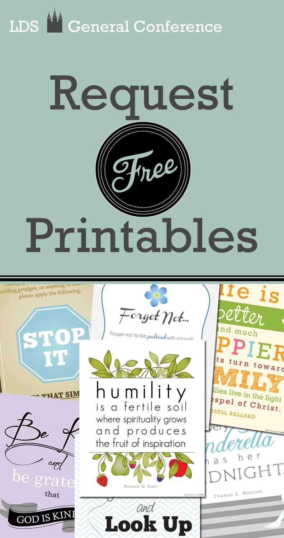 BitsyCreations: LDS Free October General Conference PRINTABLES ...