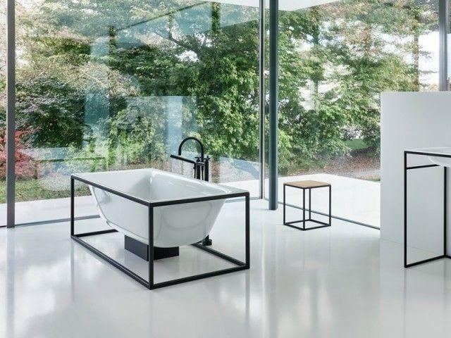 10 baignoires originales pour transformer sa salle de bains Source