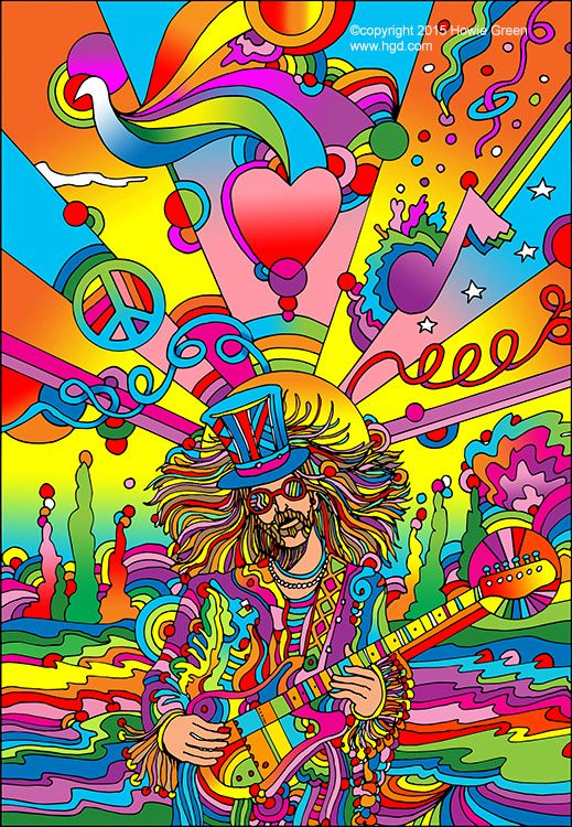 """3"""" Psychedelic Research Volunteer Hippie Peace Trippy Far Out Skate Sticker Trip"""